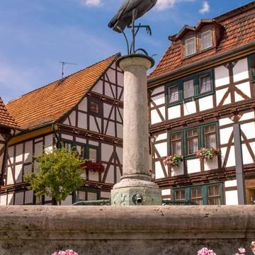 Storchenbrunnen Gerstungen