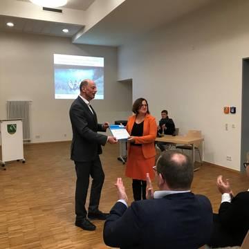 Thüringens Wirtschaftsminister Tiefensee zu Gast in Gerstungen