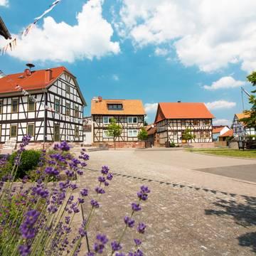 Dorfplatz in Neustädt