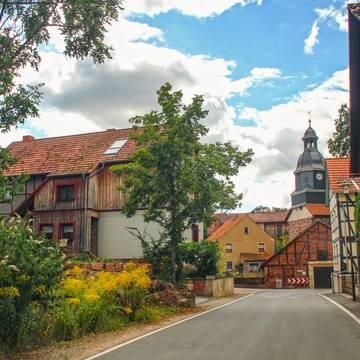 Dorfansicht Sallmannshausen