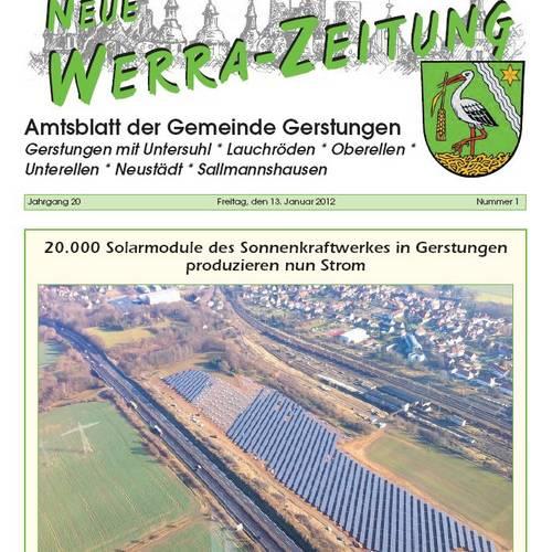Amtsblatt 2012