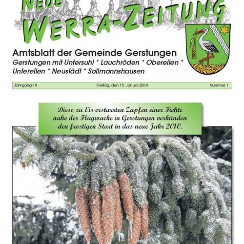 Amtsblatt 2010 © Karen Hartung