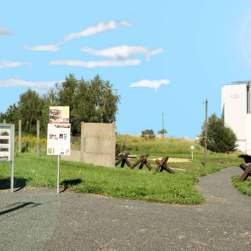 Grenzlehrpfad mit Museum © Karen Hartung
