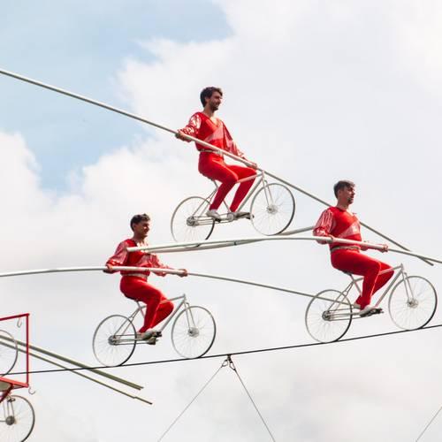 Fahrradpyramide © K. Hartung