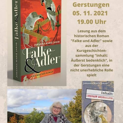 Lesung Bibliothek Gerstungen5. Nov 2021
