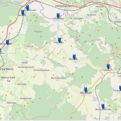 Stadtplan & Anreise