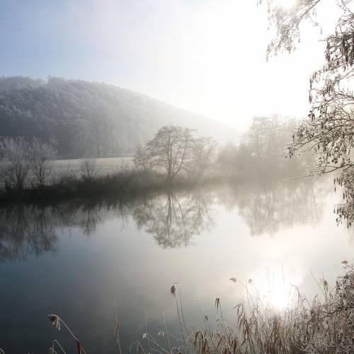 Winter an der Werra
