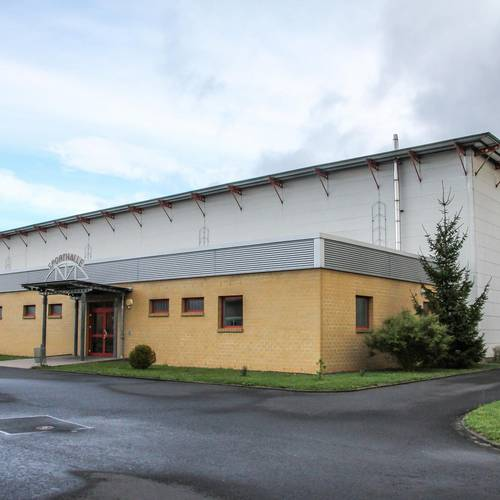 Schulsporthalle am Gymnasium in Gerstungen