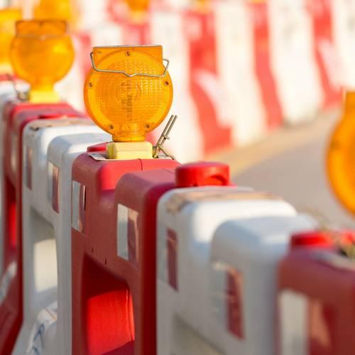Aktuelle Straßensperrungen © Karen Hartung