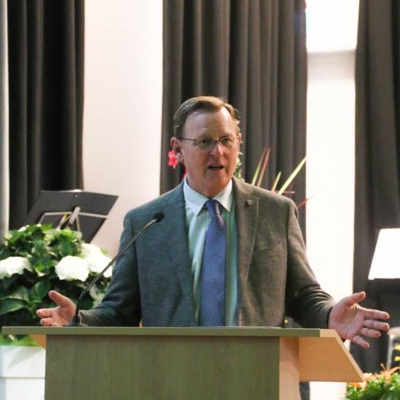 Thüringens Ministerpräsident Bodo Ramelow zu Gast in Gerstungen