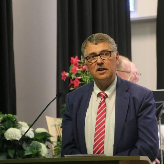 Landrat des Wartburgkreises, Reinhard Krebs, zu Gast in Gerstungen