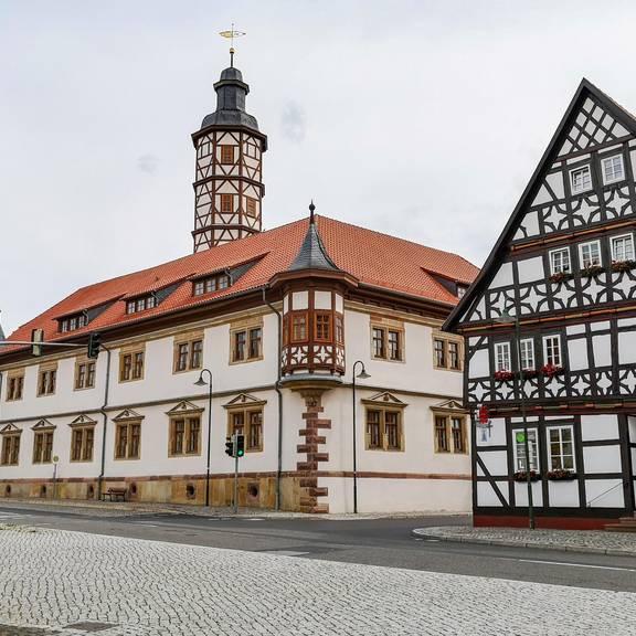 Marktplatz in Marksuhl