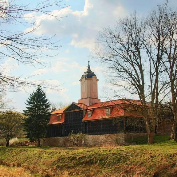 Marstall im Schloss Wilhelmsthal bei Marksuhl